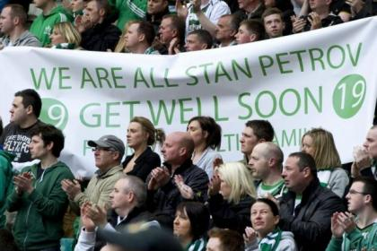 The Celtic fans will turn out in huge number to support Stiliyan Petrov