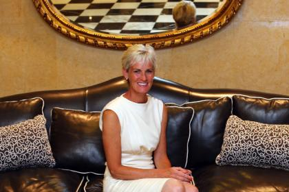 Judy Murray is one of the Scottish celebrities backing the campaign.