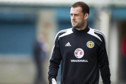 Wide of the marquee... Steven Fletcher's price tag is far too rich for Neil Lennon's blood