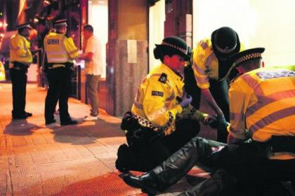 Police are taking more of a zero tolerance approach to drunken behaviour in the city centre