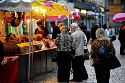 Regular street markets, although still common across much of Europe, have largely disappeared from Scotland