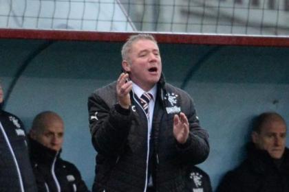 Corrigan kept tight-lipped over John Gemmell's outburst