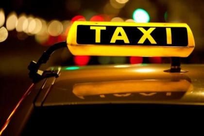 A complaint was received after the alleged taxi incident