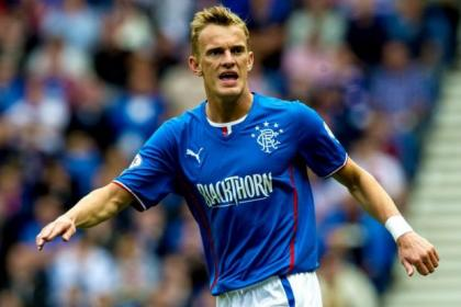 Dean Shiels is unhappy at being left on the bench for Rangers after overcoming injury