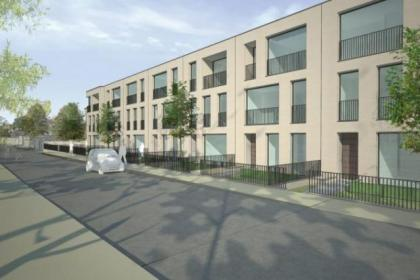 Townhouses are planned for the former BBC site