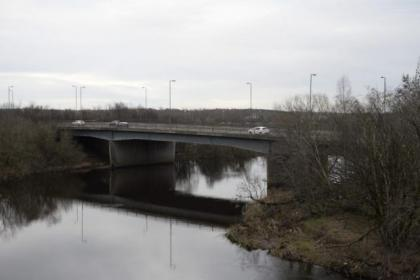 Christopher Groves and son Connor died when their car plunged into the River Clyde from the A725 on Saturday