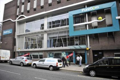 The 24-hour Pure Gym in Glasgow's Bath Street