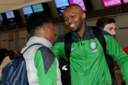 Steven Mouyokolo was part of the travelling party which flew over to Turkey last week