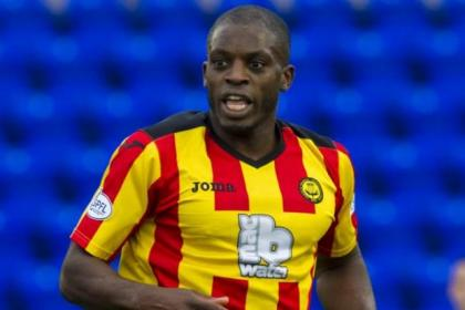 Isaac Osbourne will miss the rest of the season for Jags after picking up an ankle injury against St Johnstone in November