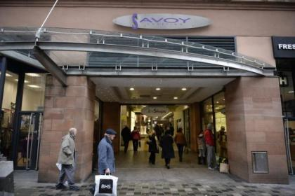 Traders at the Savoy Centre have been told to leave their shops