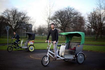 Rickshaw campaigners have called on Glasgow to adopt the same system as London