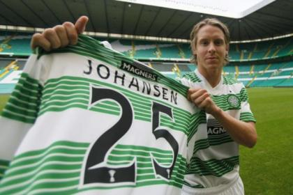 Johansen has checked into Paradise
