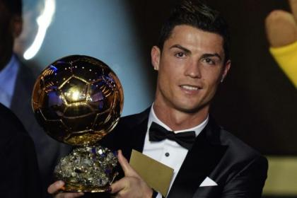 Cristiano Ronaldo picked up Ballon d'Or award ahead of Lionel Messi