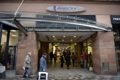 Businesses at the Savoy Centre will open as normal today