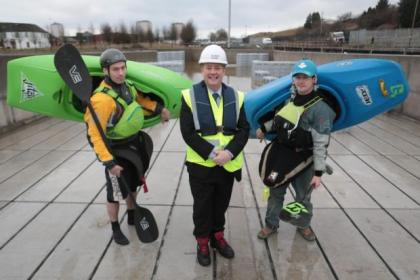 A new paddle-sports centre will be built on the canal at Pinkston