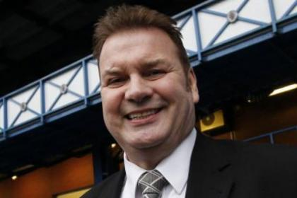 Gers legend Derek Johnstone