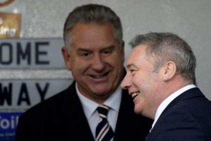 Gers chief executive Graham Wallace has asked Ally McCoist's men to take pay cut
