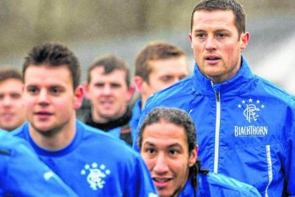 Jon Daly will be keeping a close watch on team-mate Bilel Mohsni, who is just six goals behind him in the Ibrox scoring chart