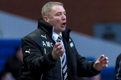 Ally McCoist's Gers side lost two bad goals against Arbroath