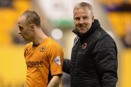 Leigh Griffiths is a target for Celtic, but Wolves boss Kenny Jackett has so far resisted the club's advances