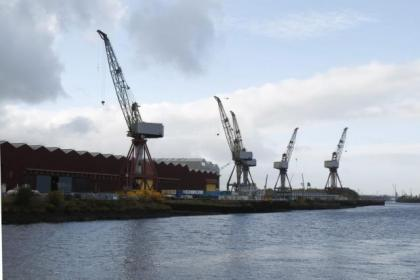 The future of shipbuilding on the Clyde has been highlighted in the late Independence polls