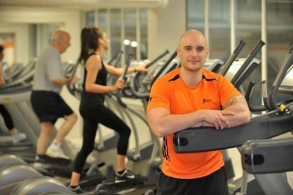 Gym instructor Gareth Menzies at Bellahouston Sports Centre
