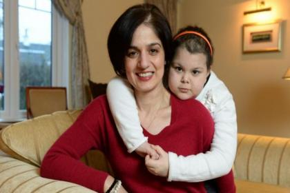 Noreen Siddiqui began raising cash for the Anthony Nolan charity after being told herdaughter Ayesha needs a bone marrow transplantPicture: Nick Ponty