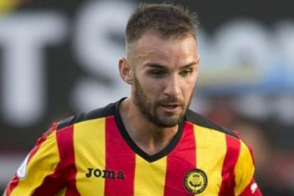 On the way back...Sean Welsh could return in a month for Thistle
