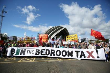 The Bedroom Tax has met with fierce protests