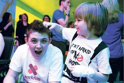 Nicholas previously visited Yorkhill Children's Hospital in Glasgow.
