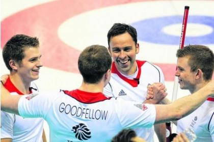 Team GB curlers had success at Sochi Winter Olympics.