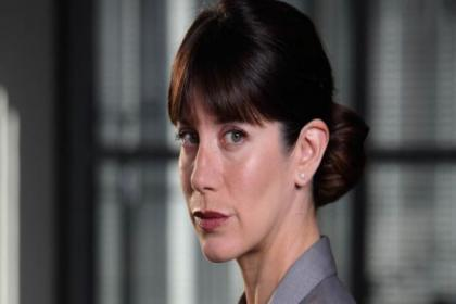 Caroline Catz  was surprised to be asked back to DCI Banks
