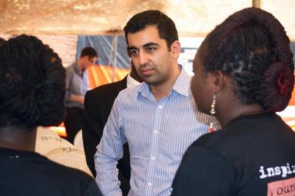 Humza Yousaf announced the scheme to benefit students in Malawi