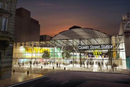 The revamp of Queen Street station will not be completed for five years