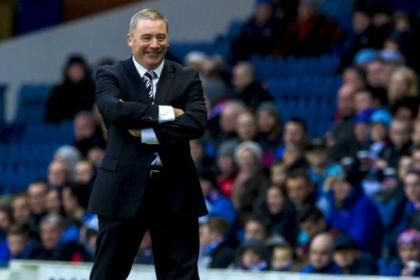 McCoist wants his players to handle pressure of playing at Ibrox