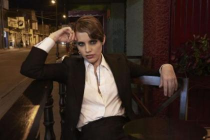 Anna Calvi is happy performing at fashion shows but her focus now is on her music