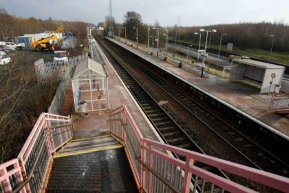 Residents of the east end say they are being kept awake by work on the railway line