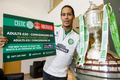 Virgil van Dijk is hoping to take a step closer to cup silverware against Dons on Saturday