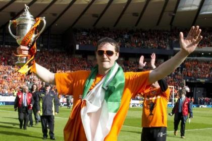 Daly has previously won the Scottish Cup with Dundee United