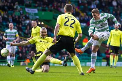 Kris Commons fires home his 22nd goal of the season against St Mirren last weekend