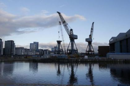 The shipyards are to be fitted with creches and gyms