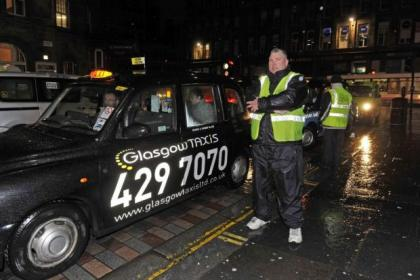 Stephen Flynn, vice chairman of Glasgow Taxis Ltd
