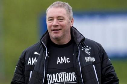 McCoist is holding up Aberdeen as the side most likely to win cup