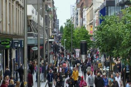 Sauchiehall Street is the setting of a BBC documentary