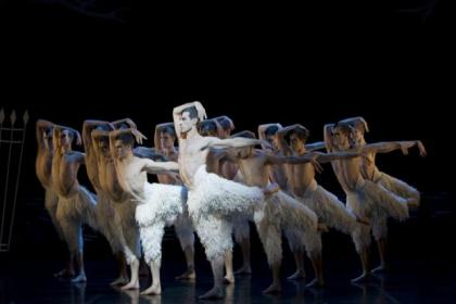 The cast of Swan Lake wow the audience