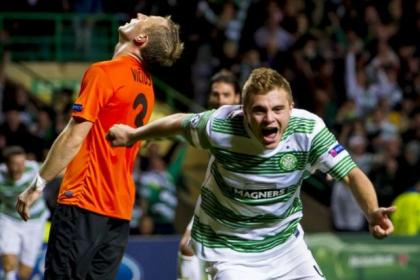 James Forrest netted winner against Shakhter Karagandy in play-off