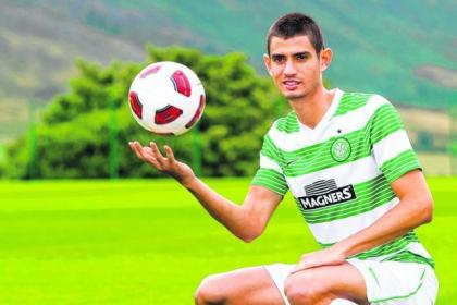 Nir Biton has made 11 SPFL appearances for Celtic