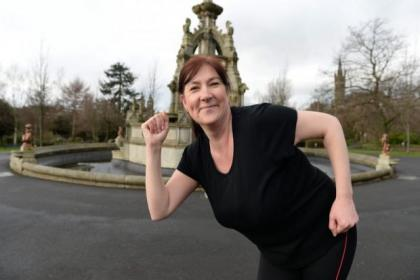 Janice Cairns is training for the  Women's 10K this year Pictures: Nick Ponty