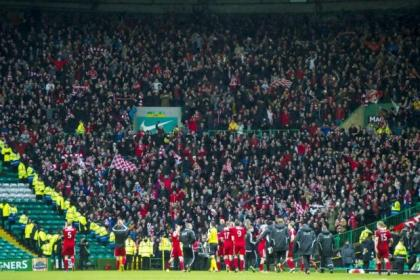 Aberdeen brought a large travelling support to Celtic Park but the chants at Neil Lennon were an embarrassment, says Davie Hay