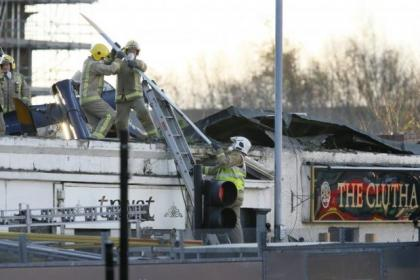 The helicopter that crashed into the Clutha bar suffered a double engine failure